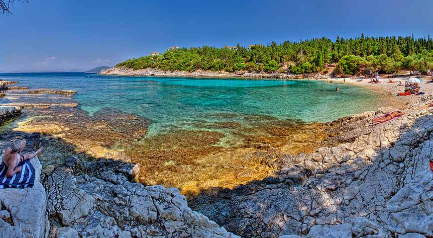 Пляжи Кефалонии (фото)